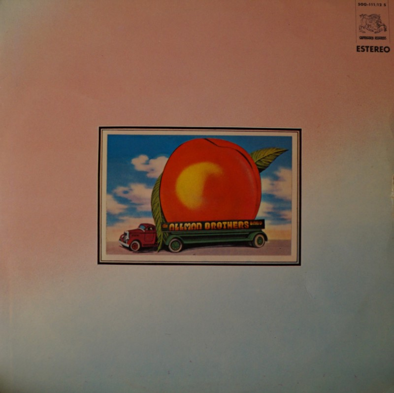 The Allman Brothers Band: At Fillmore East. Vinilo Doble Album LP 33 RPM