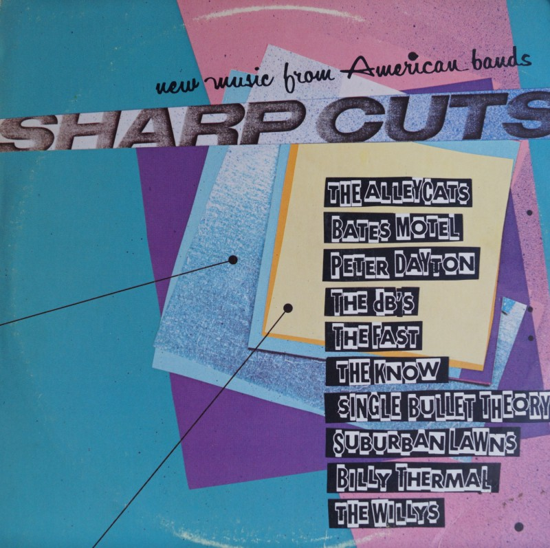 Sharp Cuts: New Music From American Bands. Albúm Vinilo 33 rpm