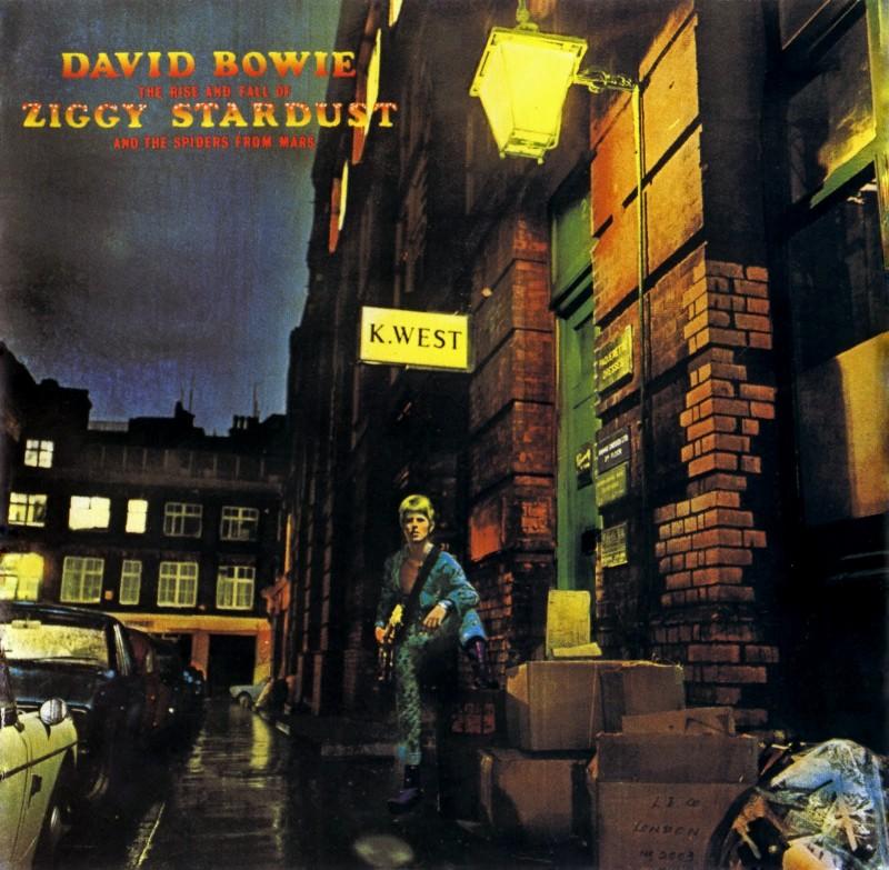 David Bowie Ziggy Stardust y Las Arañas de Marte