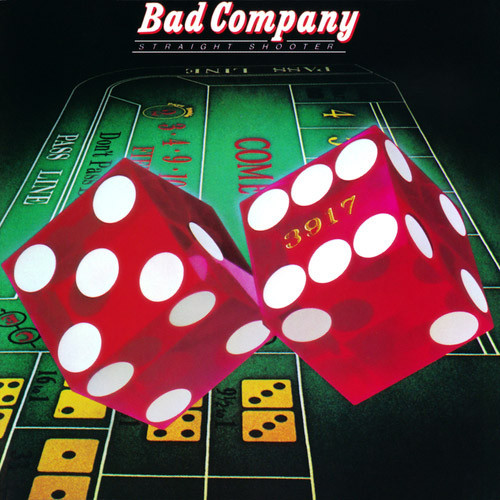 Bad Company - Straight Shooter. Albúm Vinilo 33 rpm