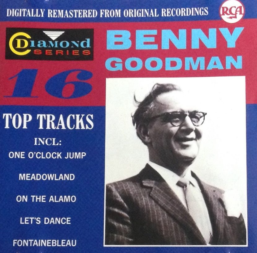 Benny Goodman - 16 Top Tracks. CD Albúm