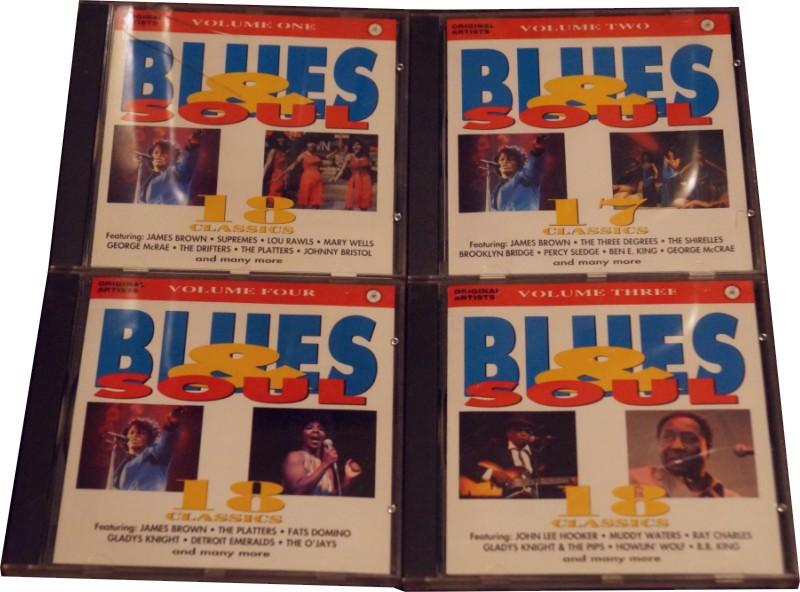 Blues & Soul Collections - CD Recopilacion 4 Volumenes (71 Canciones) Artistas Originales