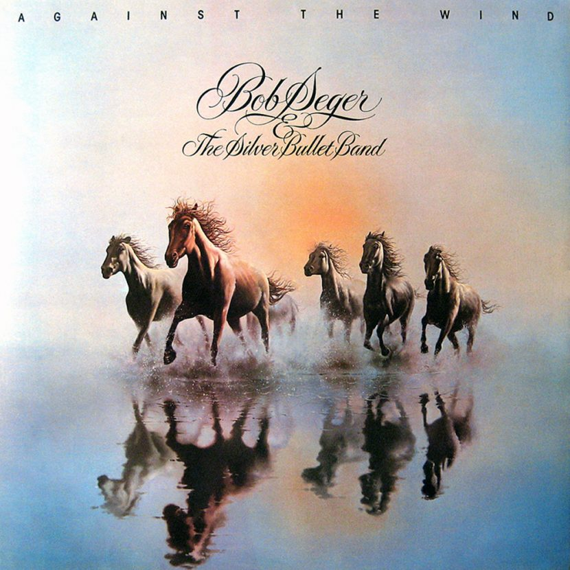 Bob Seger & The Silver Bullet Band Against the Wind. Album vinilo 33 rpm