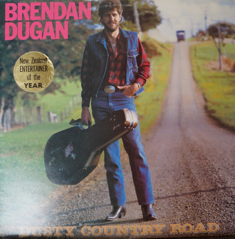Brendan Dugan - Dusty Country Road. Album Vinilo 33 rpm