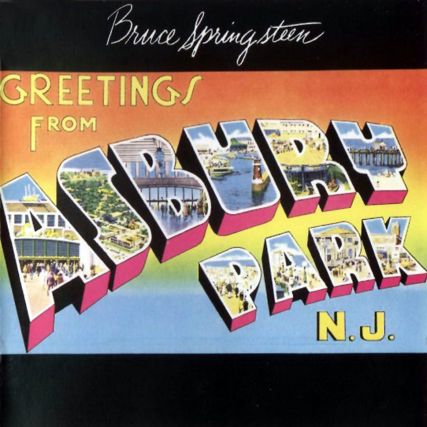 Bruce Springsteen - Greetings From Asbury Park. CD Albúm