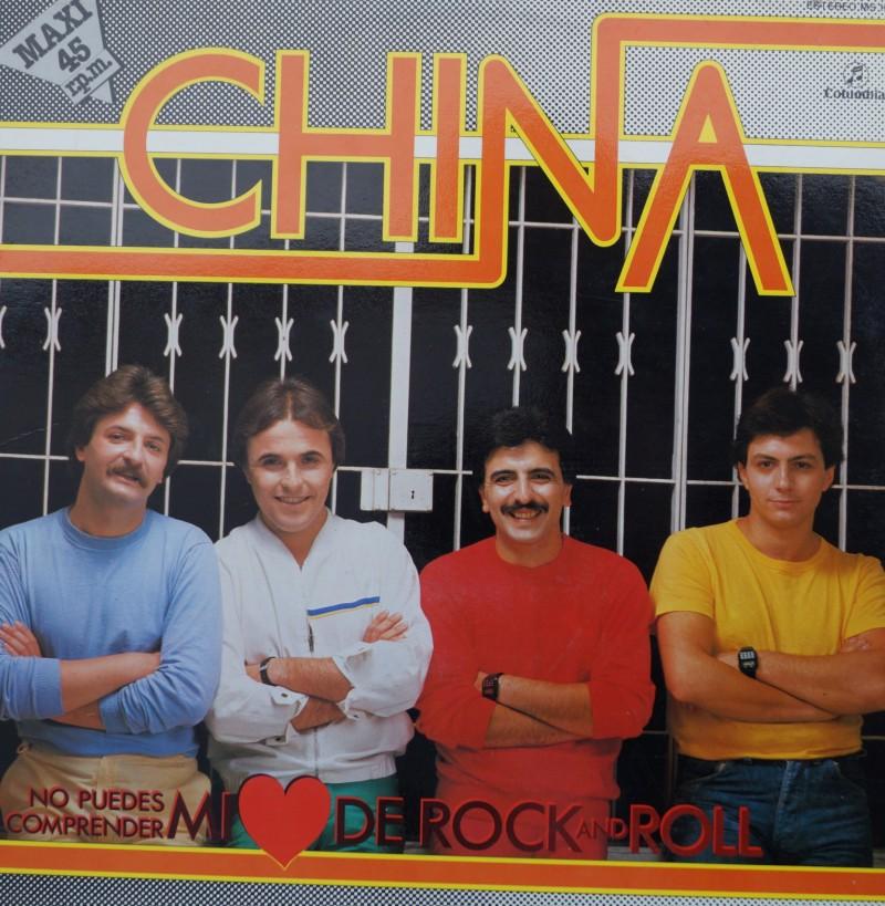 China - No puedes comprender mi corazón de Rock & Roll. Maxi Single Vinilo 45 rpm