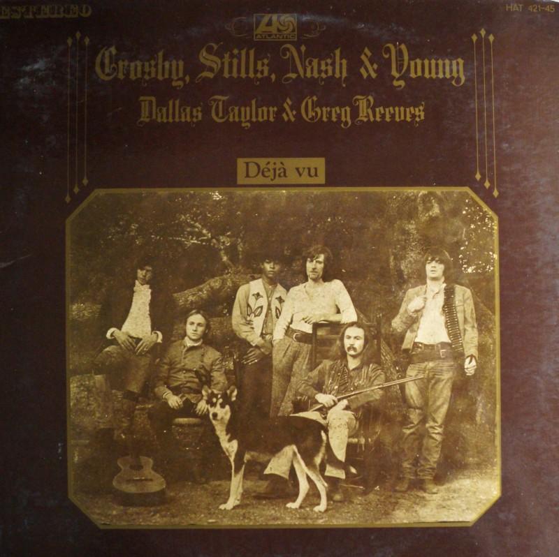 Crosby Stills Nash & Young: Deja Vu - LP Vinilo 33 rpm