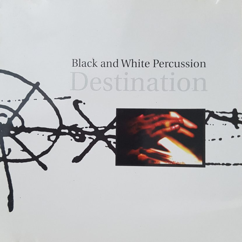 Destination - Black and White Percussion. CD Albúm