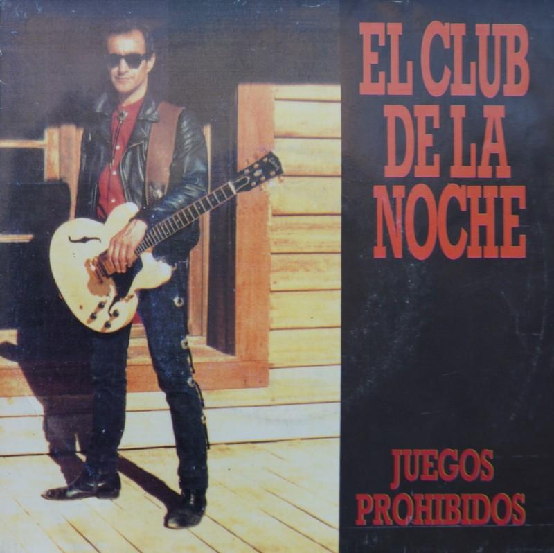 El Club de la Noche - Juegos Prohibidos. Single Vinilo 45 rpm