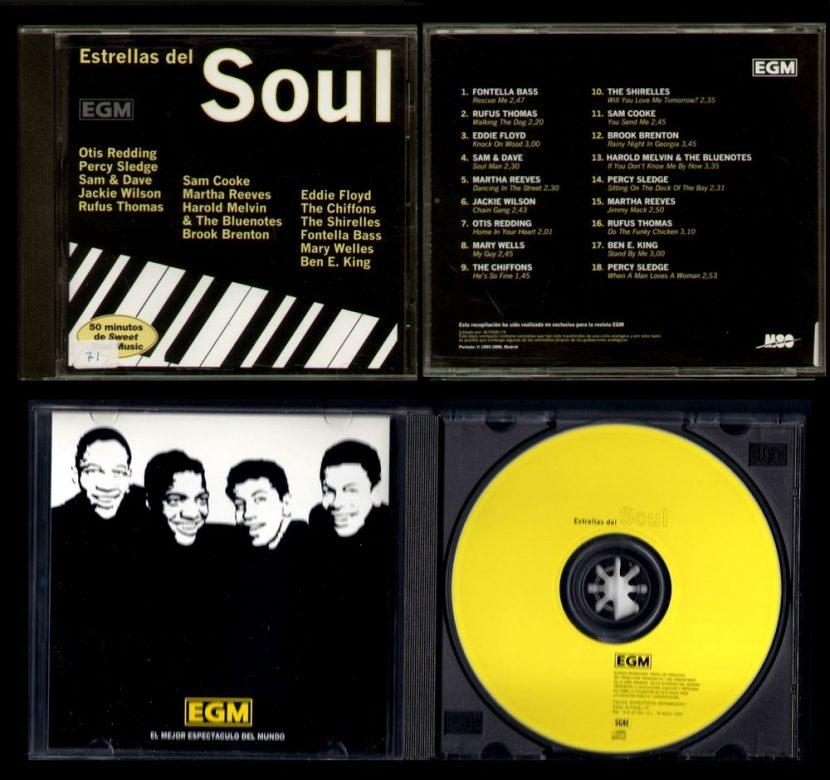 Estrellas del Soul, Recopilación - CD Albúm