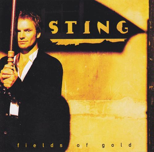 Sting: Fields of Gold - CD Single