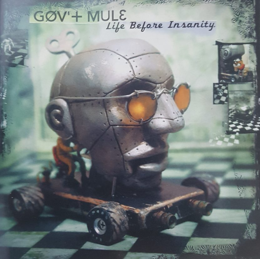 Gov Mule - Life Before Insanity. CD Albúm