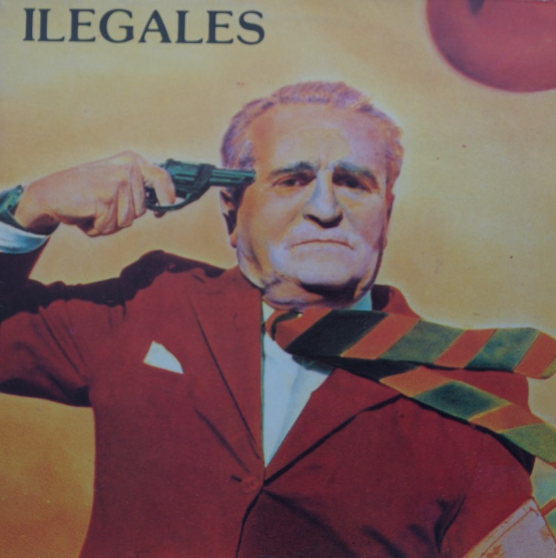 Ilegales - Albúm Vinilo 33 rpm