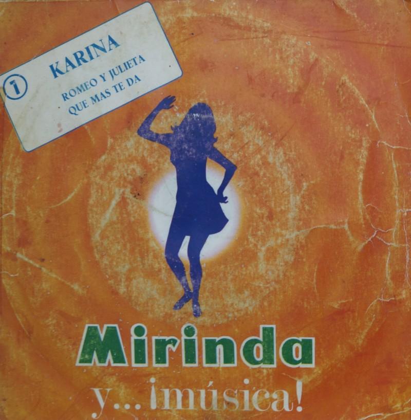 Karina - Romeo y Julieta. Single Vinilo 45 rpm