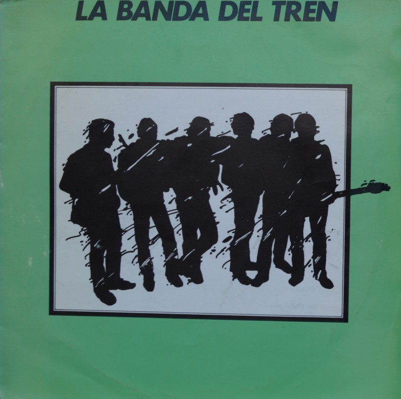 La Banda del Tren - Sueño de Papel. Single Vinilo 45 rpm