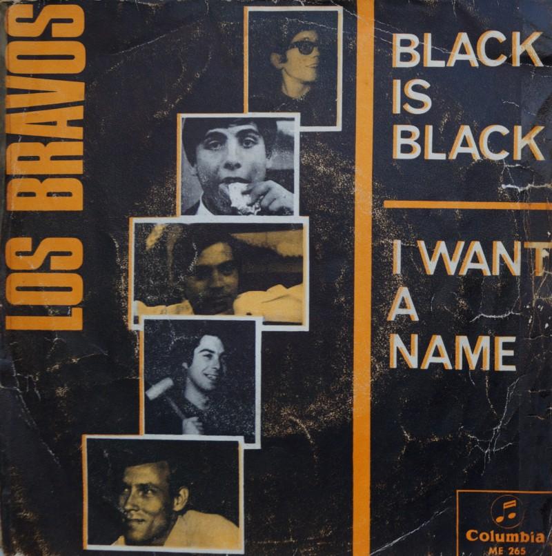 Los Bravos - Black is Black. Single Vinilo 45 rpm