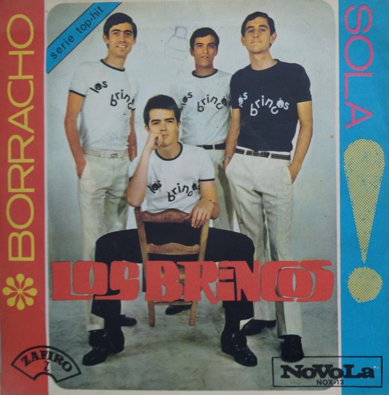 Los Brincos - Borracho . Single Vinilo 45 rpm