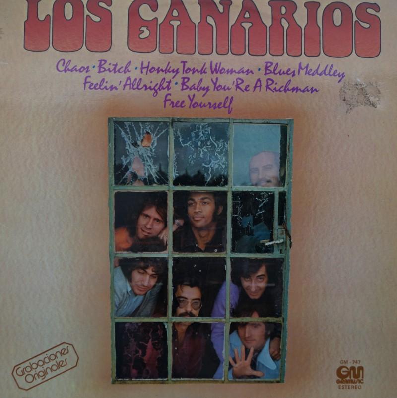 Los Canarios - Grabaciones Originales. Albúm Recopilacion Vinilo 33 rpm