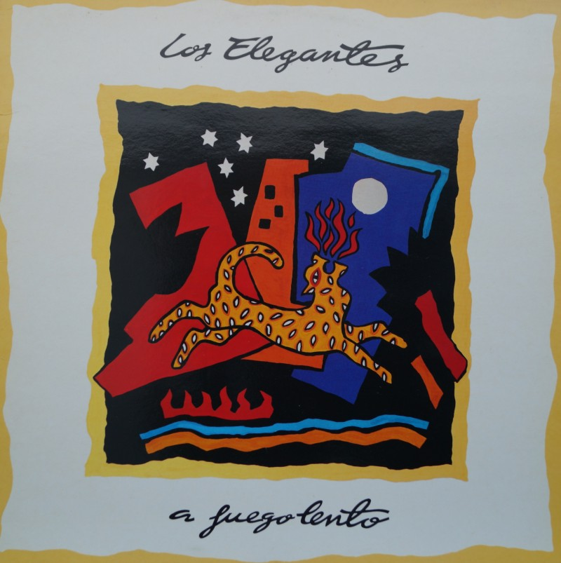 Los Elegantes - A Fuego Lento. Albúm Vinilo 33 rpm