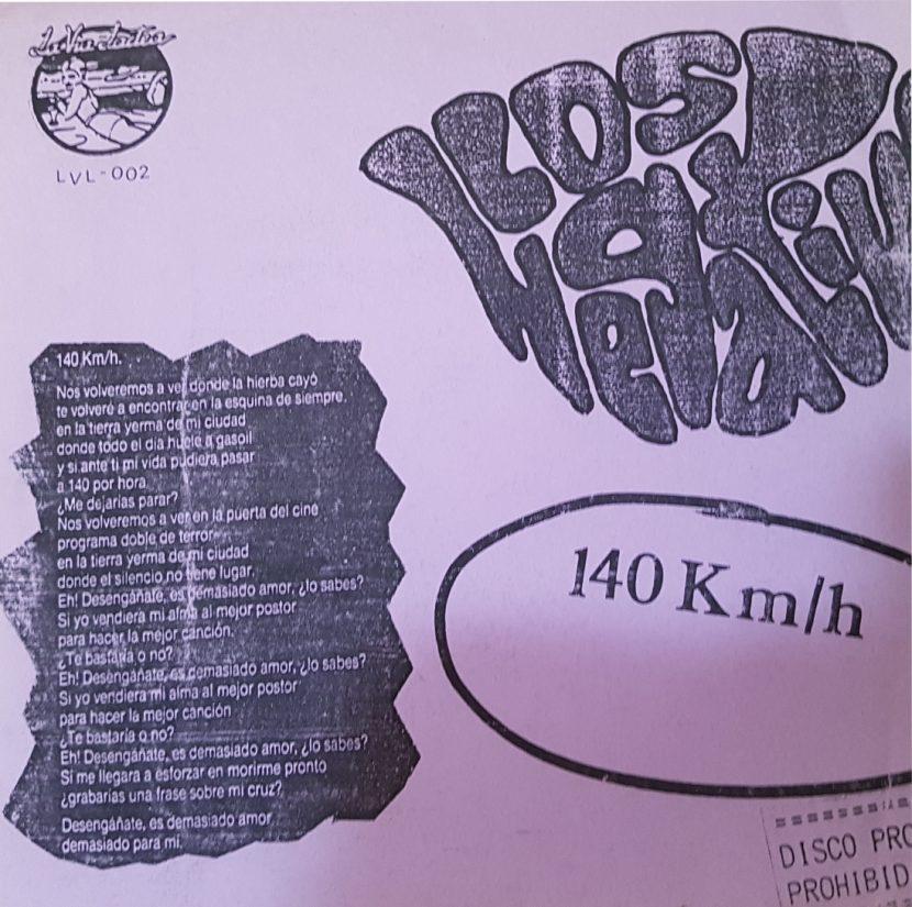 Los Negativos - 140Km / h. Flexi Single Vinilo 45 rpm