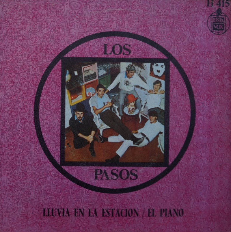 Los Pasos - Lluvia en la Estación. Single Vinilo 45 rpm