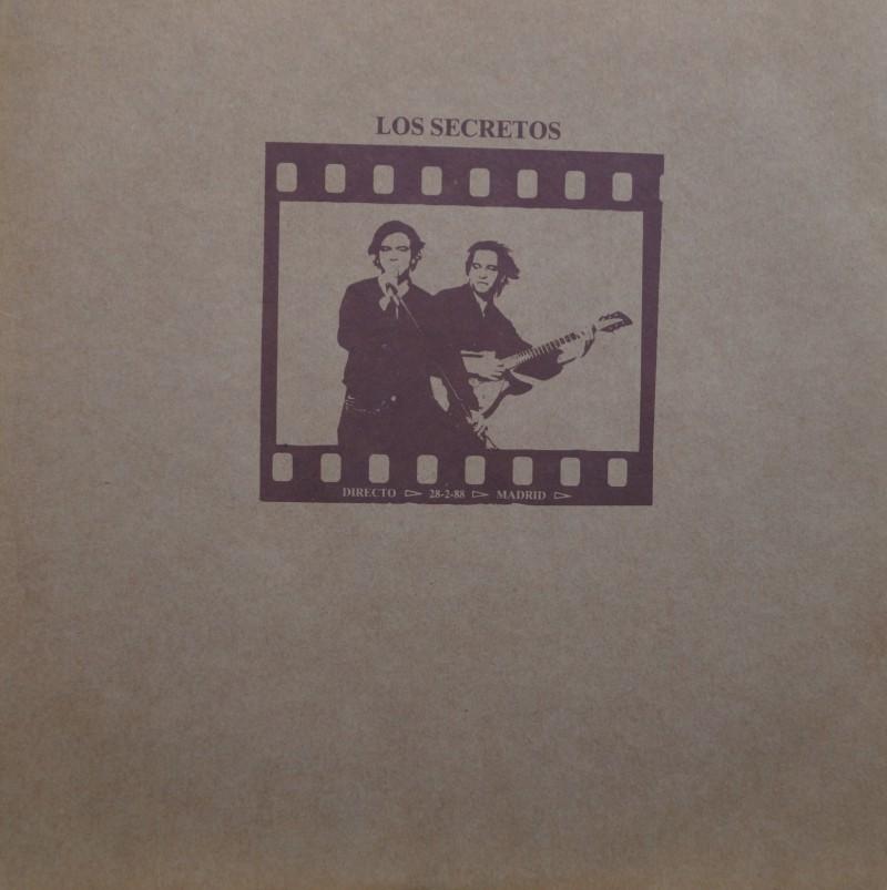 Los Secretos - Directo 28-02-88. Doble Albúm Vinilo en Directo 33 rpm