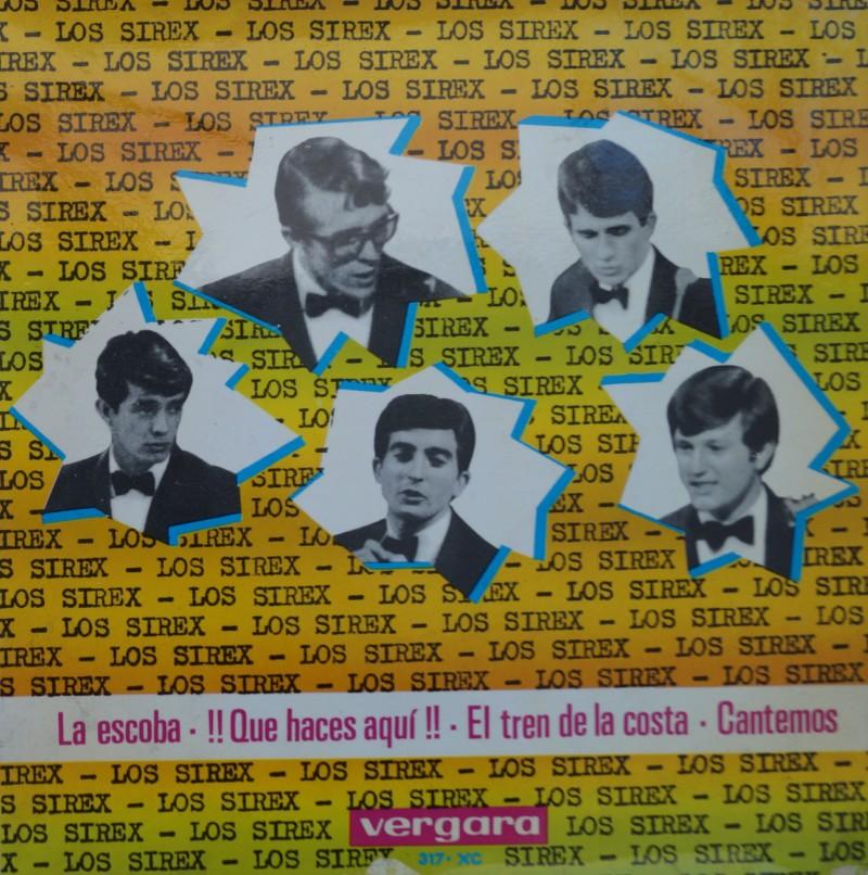 Los Sirex - La Escoba. E.P. Vinilo 45 rpm