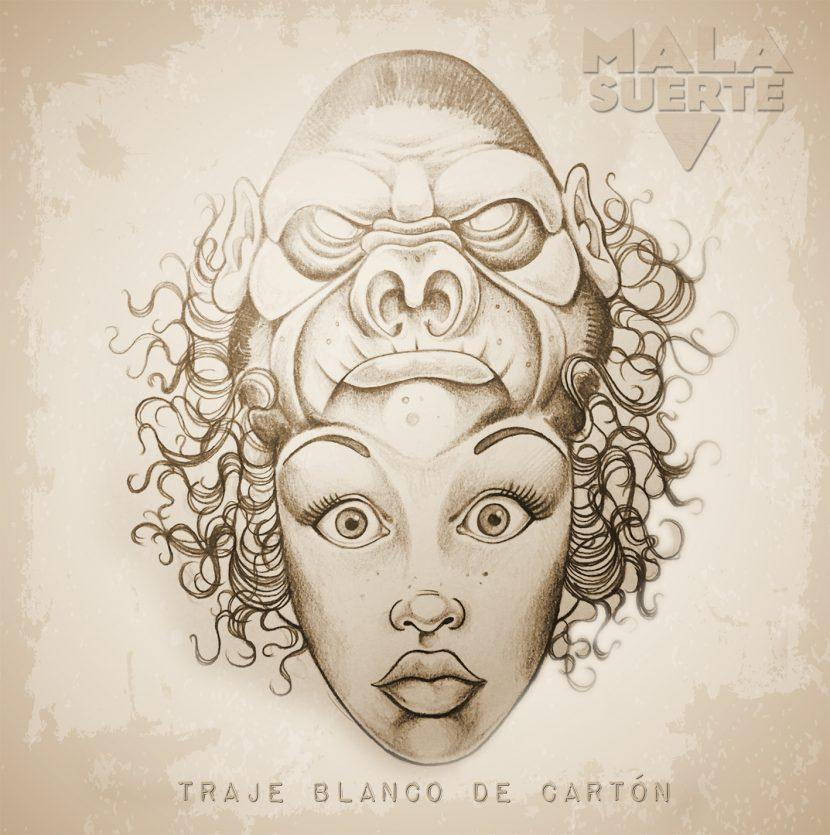 Mala Suerte - Traje Blanco de Carton. CD Álbum