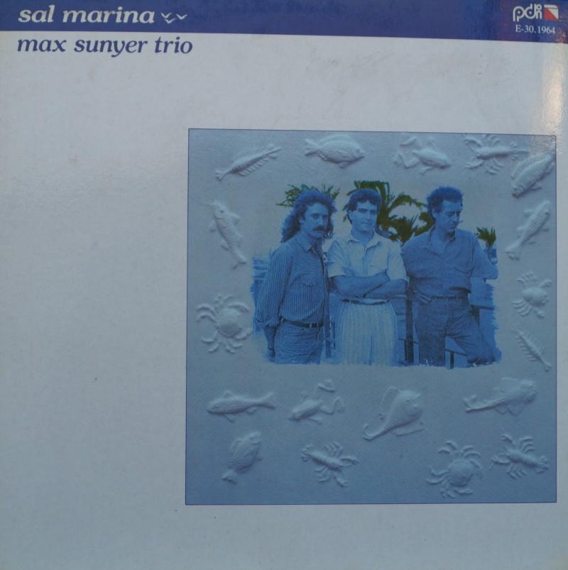 Max Sunyer Trio - Sal Marina. Albúm Vinilo 33 rpm