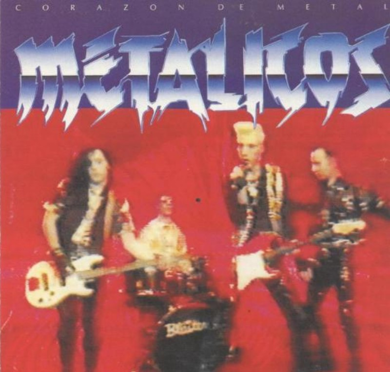 Metalikos - Corazon de Metal. CD Albúm