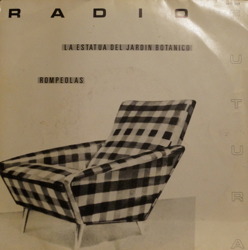 Radio Futura - La Estatua del Jardin Botanico. Single Vinilo 45 rpm