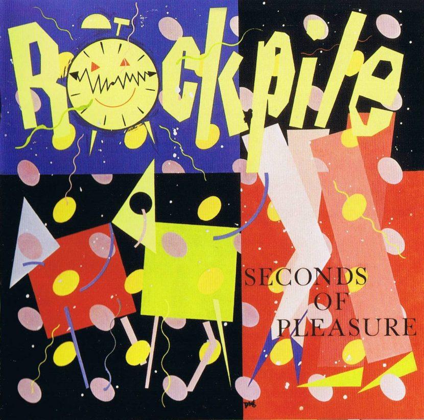 Rockpile - Secons of Pleasure. Albúm Vinilo 33 rpm