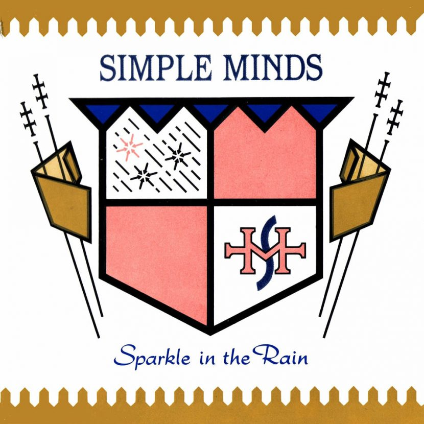 Simple Minds - Sparkle in Rain. Albúm Vinilo 33 rpm
