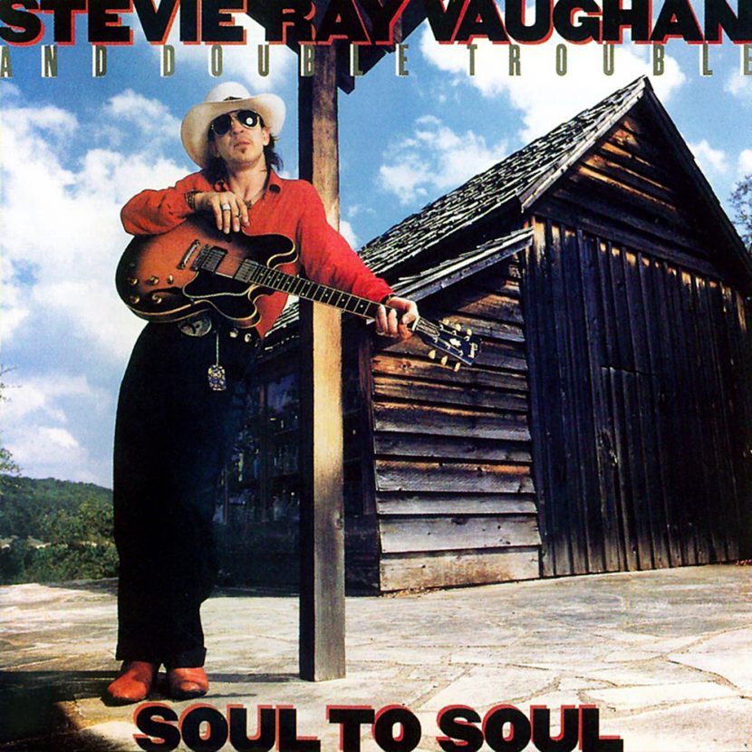 Steve Ray Vaughan & Double Trouble - Soul to Soul. Albúm Vinilo 33 rpm