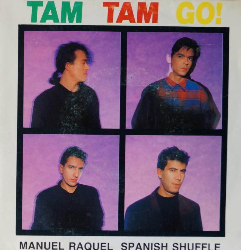 Tam Tam Go - Manuel Raquel. Single Vinilo 45 rpm