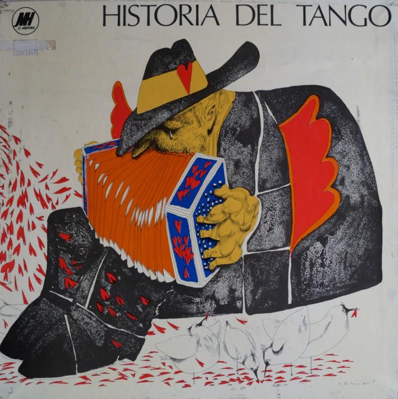 Historia del Tango. Triple Albúm Box Set Vinilos 33 rpm