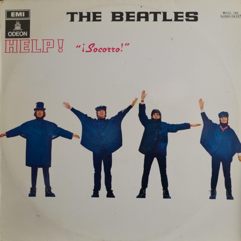 The Beatles: Help (¡Socorro!) LP Vinilo 33 rpm