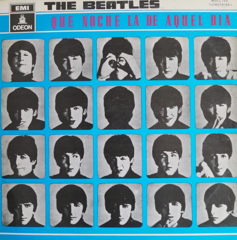 The Beatles: A Hard Days Night (Que Noche la de Aquel Dia) Albúm LP Vinilo 33 rpm