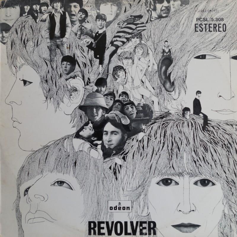 The Beatles: Revolver - Albúm LP Vinilo 33 rpm