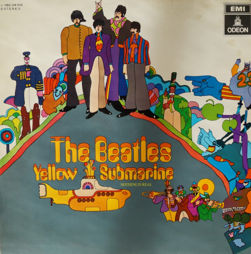 The Beatles: Yellow Submarine - Albúm LP Vinilo 33 rpm