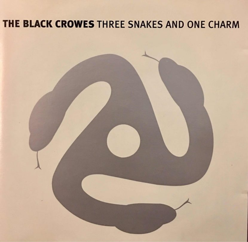 The Black Crowes - Three Snakes And One Charm. CD Album