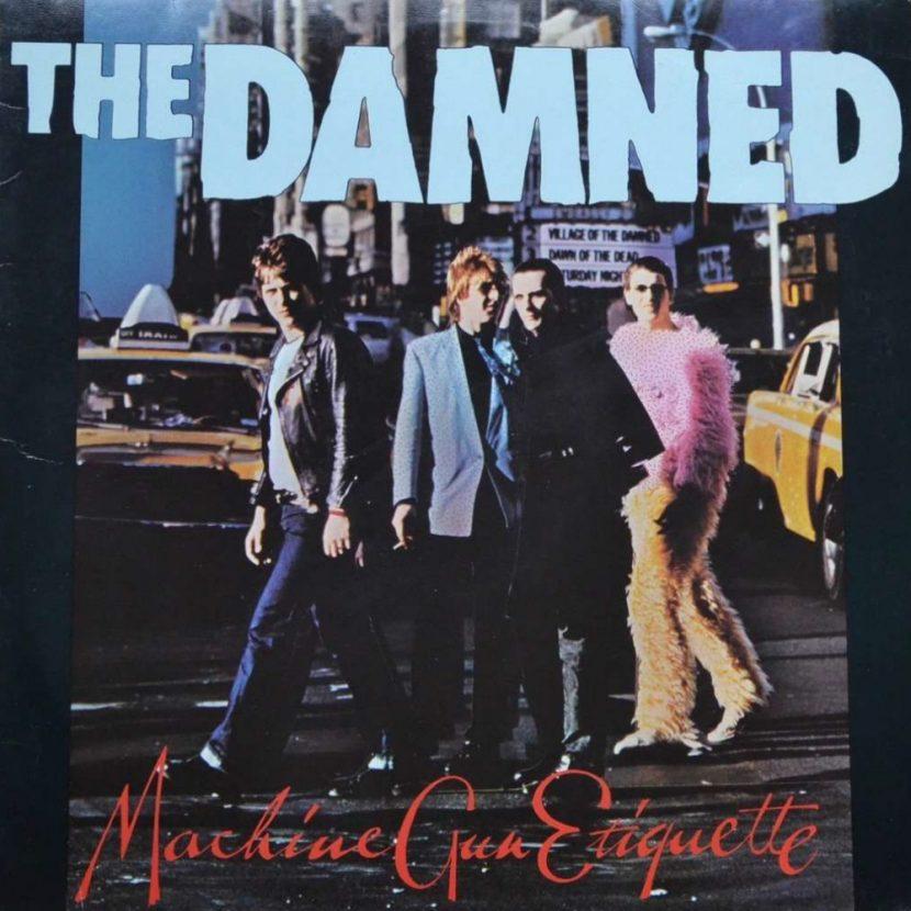 The Dammed: Machine Gun Etiquette - LP Vinilo 33 rpm