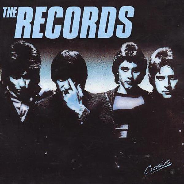 The Records - Crashes. Albúm Vinilo 33 rpm
