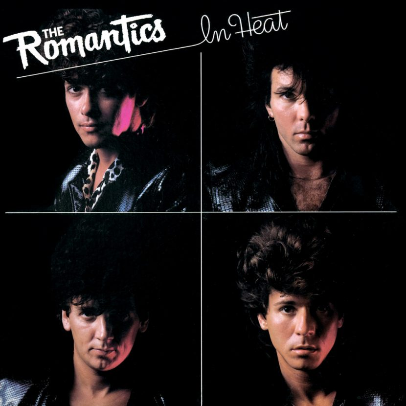 The Romantics - In Heat. Albúm Vinilo 33 rpm