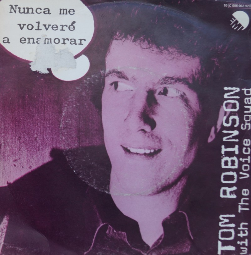 Tom Robinson Band - Never Going To Fall In Love. Single Vinilo 45 rpm