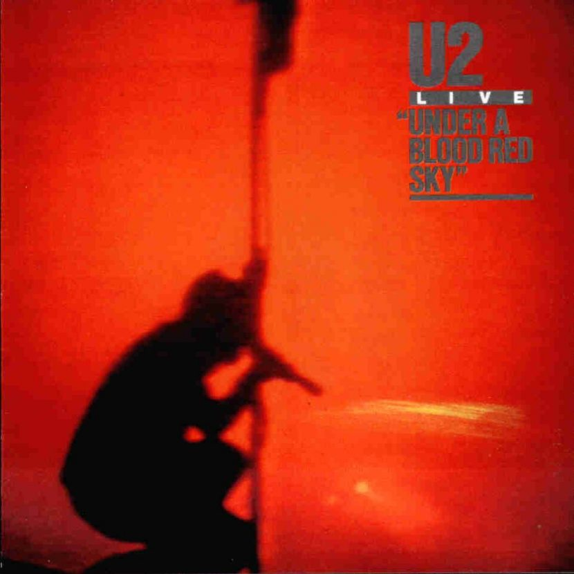 U2 - Live Under a Blood Red Sky. Albúm Vinilo 33 rpm