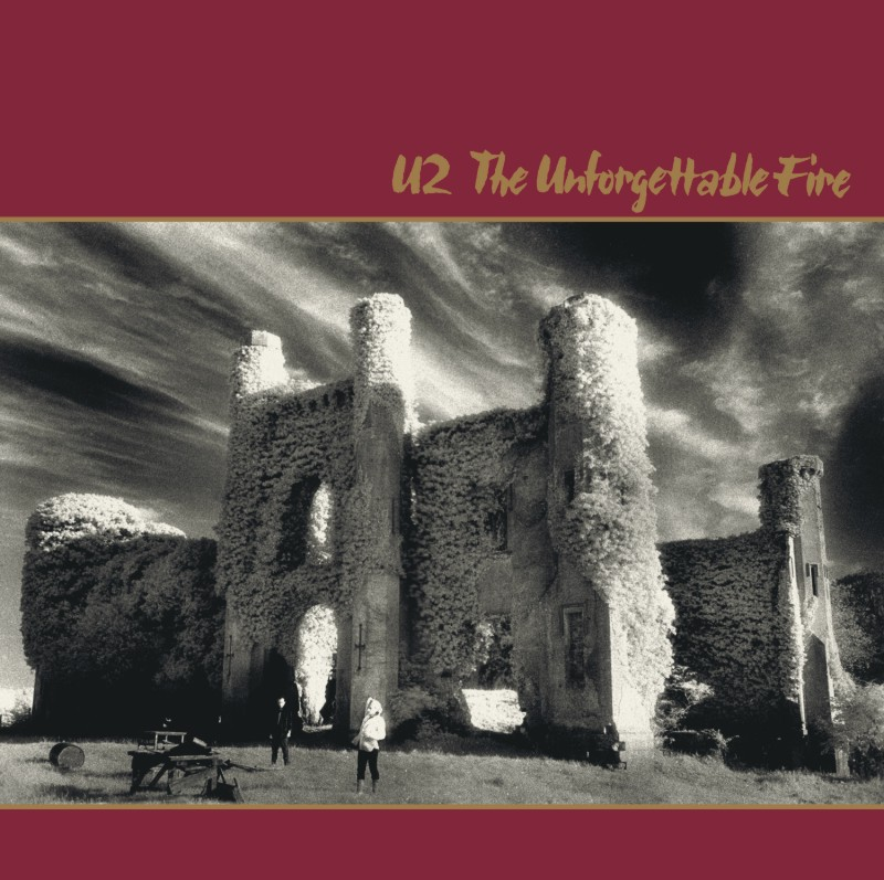 U2 - The Unforgettable Fire. Albúm Vinilo 33 rpm
