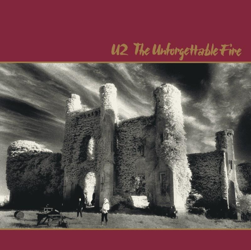 U2 - The Unforgettable Fire. Albúm Vinilo 33 rpm