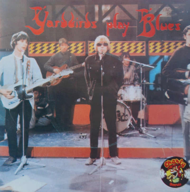 The Yardbirds Play Blues - New York City Blues & Jeff's Blues. Single Vinilo 45 rpm