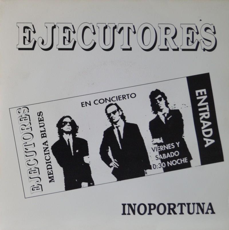Ejecutores - Inoportuna. Single Vinilo 45 rpm